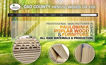 木业建材|宁波外贸网站建设